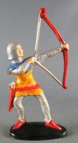 Jim - Moyen Age - Piéton 1ère série Archer Orange & Bleu