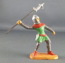 Jim - Moyen Age - Piéton 1ère série Brandissant Lance