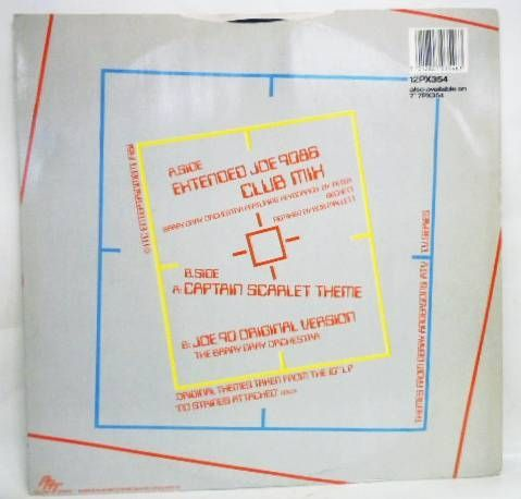 Joe 90 - Disque 33T - Joe 9086 Club Mix - PRT Records 1986