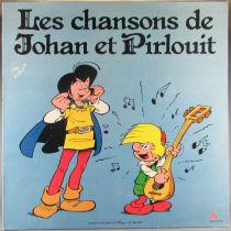 Johan & Pirlouit - Disque 33T AB Productions - Les Chansons de Johan & Pirlouit