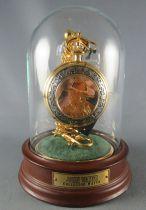 John Wayne - Franklin Mint - Pocket Watch Glass Dome Chain Stand Unused