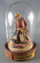 John Wayne - Franklin Mint Glass Dome Sculpture - Branding Iron & Lasso