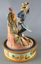 John Wayne - Franklin Mint Glass Dome Sculpture - US Cavalry
