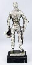 John Wayne - Statue en métal injecté 17cm - Daviland France 1978