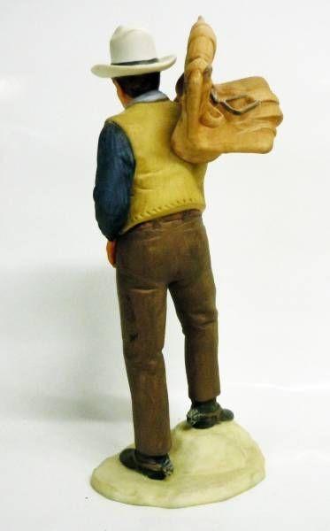 John Wayne (est Bob Seton dans Dark Commando) - Figurine en céramique - Avon Image of Hollywood