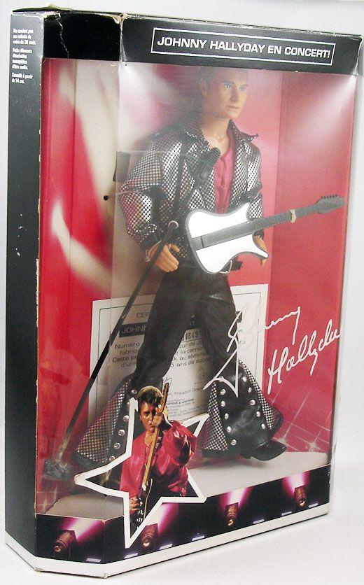 Johnny Hallyday - Poupée 30cm Mattel 1995 (neuve en boite)