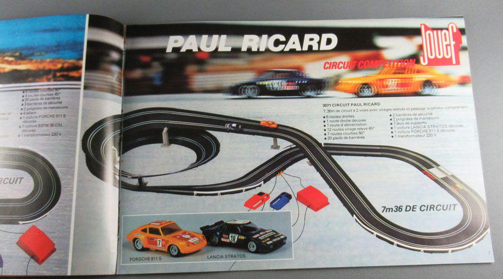 Jouef - Circuit Compétition Z Racing - Catalogue Couleur 16 pages