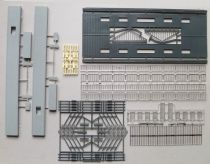 Jouef 1018 & 1019 Ho Sncf Large Plateforms & Glass Roof Mint no Box