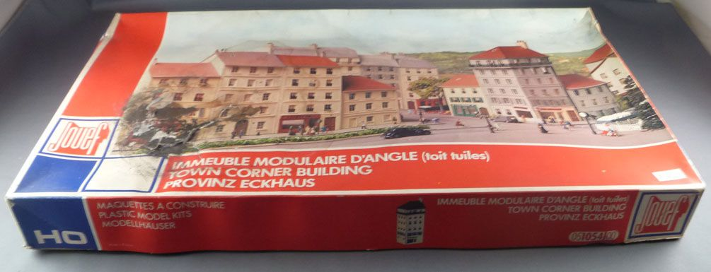 Jouef 1054 Ho Sncf Town Corner Building Mint in box