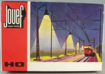 Jouef 1793E Ho Sncf 2 Light Poles with Bulb Mint in Box