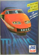 Jouef 1981 Catalogue without Poster A4 Size 74 Colors Pages