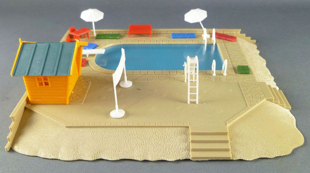 Jouef 1991 Ho Sncf Swimming-Pool Builded Complete with box