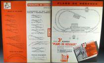 Jouef 2 Dépliants Plans & Construction de Reseaux Catalogue Matériel Roulant