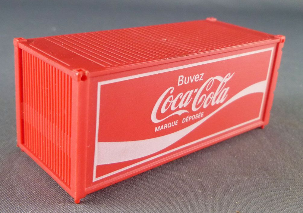 Jouef 2630A Ho Sncf 1 x 20 Feet Coca-Cola Container
