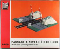 Jouef 2671 Ho Sncf Electric Crossing Level with Track Mint in Box