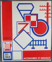 Jouef 268600 Ho Sncf Accessoires & Signaux Barrières Poteaux Télégraphiques Neuf Boite