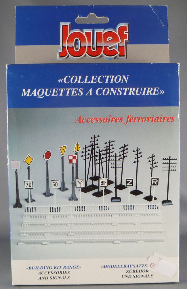 Jouef 268600 Ho Sncf Accessories & Signals Boxed