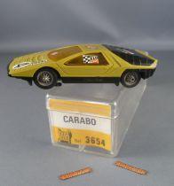 Jouef 3654 - Carabo Bertone N°4 en Boite avec 2 Frotteurs Neuf