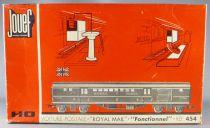 Jouef 454 Ho Coffret Br Voiture Postal Royal Mail Fonctionnel Neuf Boite 2