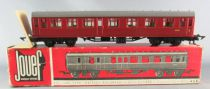 Jouef 457 Ho Br Mark 1 Passenger Coach 1st/2nd Class 15100 Red Maroon Mint in Box