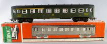 Jouef 461 Ho Sncb A3B5 13101 1st/2nd Class Coach Green Interior Mint in Box