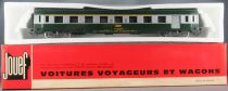 Jouef 4694 Ho Sncf Uic Coach A7D 1st Class Green & Grey Mint Sealed Red Box