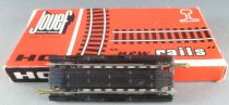 Jouef 4786 Ho 1 Straight Extensible Steel Tracks with Plug 86 to 117 mm Mint in Box