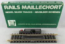 Jouef 4791 Ho 1 Rail Droit Maillechort Décrochage Dételeur Electrique 123,5 mm Neuf Boite