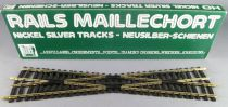 Jouef 4847 Ho Large Crossing 14° 245 mm Nickel Silver Tracks Mint in box