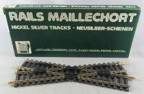 Jouef 4849 Ho Crossing 22°30 Nickel Silver Tracks Mint in box