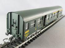 Aménagement intérieur pour voiture Modernisée ROMILLY SNCF 2ème cl fourgon JOUEF
