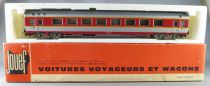 Jouef 5341 Ho Sncf Grand Confort Coach A8TU 1st Class Red & grey Livery in box