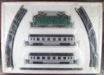 Jouef 553 Ho Sncf Train Mécanique Coffret Palatino Paris-Rome Loco BB 9004 2 Voitures Dev 10 Rails Neuf Scellé 2