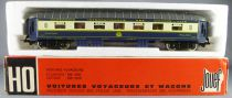 Jouef 5610 Ho Ciwl Pullman Coach 4029 with Interior & Light Boxed