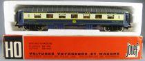 Jouef 5610 Ho Ciwl Voiture Pullman 4029 Aménagement Intérieur Eclairage Boite