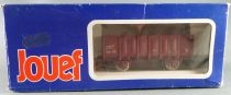 Jouef 6225 Ho Sncf 2 Axles Gondola Wagon Type Ocem Elo 01 87 512 4 106-1 with Blue Box