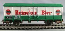 Jouef 6270 Ho Ns Wagon Couvert Métallique 2 Essieux Heineken