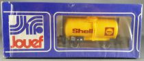 Jouef 6307 Ho Sncf Shell Tank Wagon 2 Axles Mint in Sealed Box