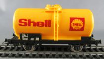 Jouef 6307 Ho Sncf Shell Tank Wagon 2 Axles Mint no Box