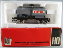 Jouef 6308 Ho Sncf Tank Wagon Total 2 Axles with Red box