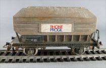 Jouef 6435 Ho Sncf Rhone Progil Wagon Painted Patina