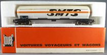 Jouef 6512 Ho Sncf Tank Wagon with bogies Cie Smts in box