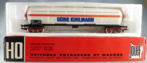 Jouef 6513 Ho Sncf Tank Wagons with bogies Cie Ugine Kuhlmann with Red Box