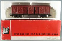 Jouef 6530 Ho Sncf TP Covered Wagon in RED box
