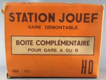 Jouef 703 Ho Sncf Complementary Box for Removable Station A or B Mint in Box