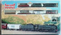 Jouef 738000 Ho Sncf Pacific Vapeur Train Set Steam Loco 4-6-2 231 C 74 Wagons Tracks