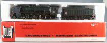 Jouef 8269 Ho Sncf Loco Vapeur 141 P 102 Mikado Tender 36P15 Venissieux Boite