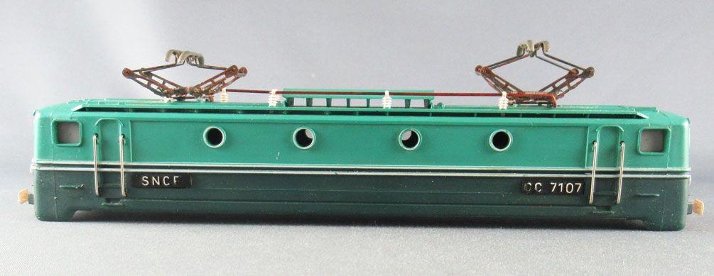 Jouef 854 Ho Sncf Loco Electrique CC 7107 Caisse Carrosserie Seule