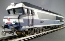Jouef 8571 Ho Sncf Diesel Loco CC 72001 Blue Livery with light