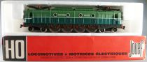 Jouef 8592 Ho Sncf Electric Loco 2D2 9120 with light Near Mint in Box